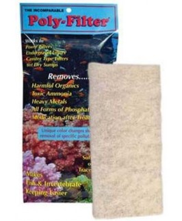 Poly-Filter Pad 4 in x 8 in